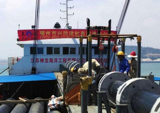 湄洲岛跨海工程