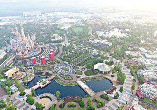 上海迪士尼污水管网