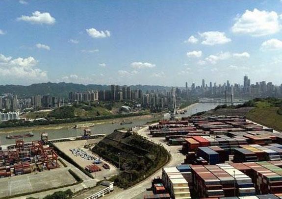 重庆寸滩港码头管网系统