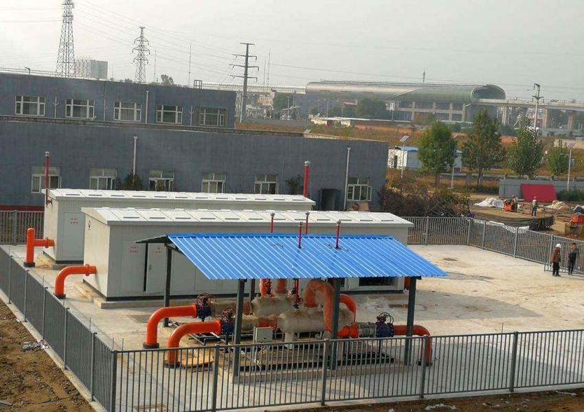北京房山锅炉房供暖给水消防项目