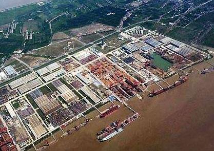 上海港口机械厂长兴岛制造基地给水管网