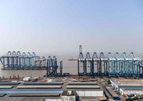 上海长兴岛港机重工有限公司给水工程