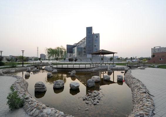 西安医科专修学院杨凌新校区教学楼消防、给水管网