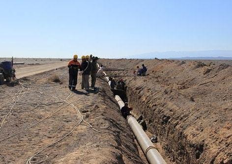 新疆哈密给水管网