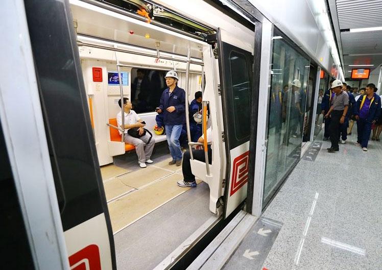 郑州地铁一号线给排水管网