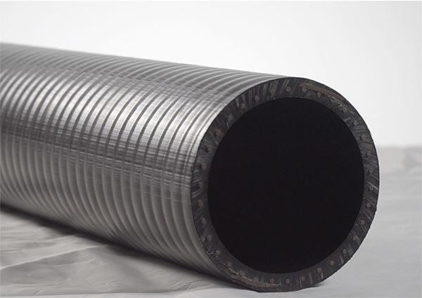 钢丝网骨架复合管管材结构