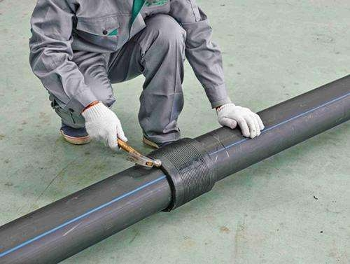 埋地塑料管道检验及储存