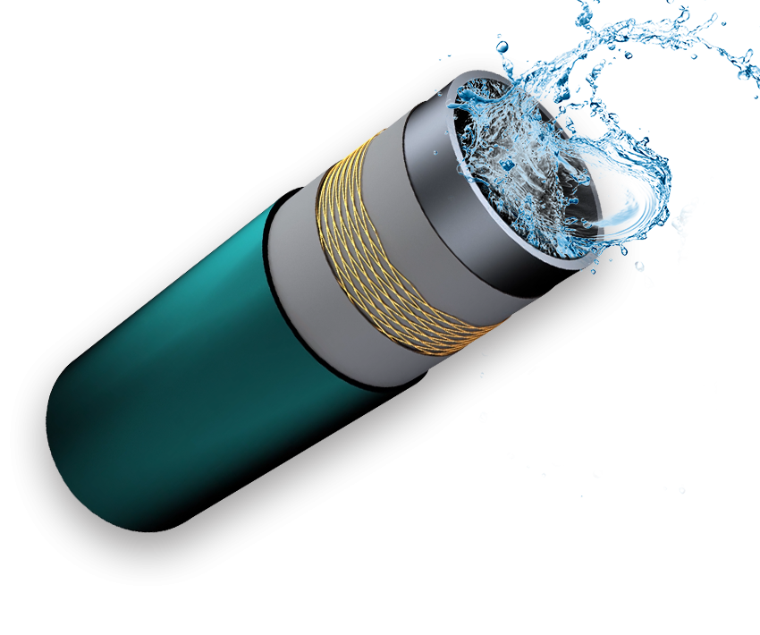 钢丝网增强聚乙烯复合耐磨管